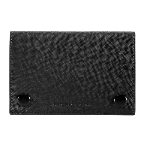Passport Sleeve - Black Saffiano