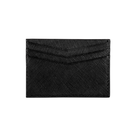 Card Holder - Black Saffiano