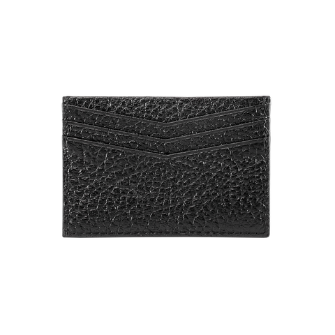 Card Holder - Black High Grain