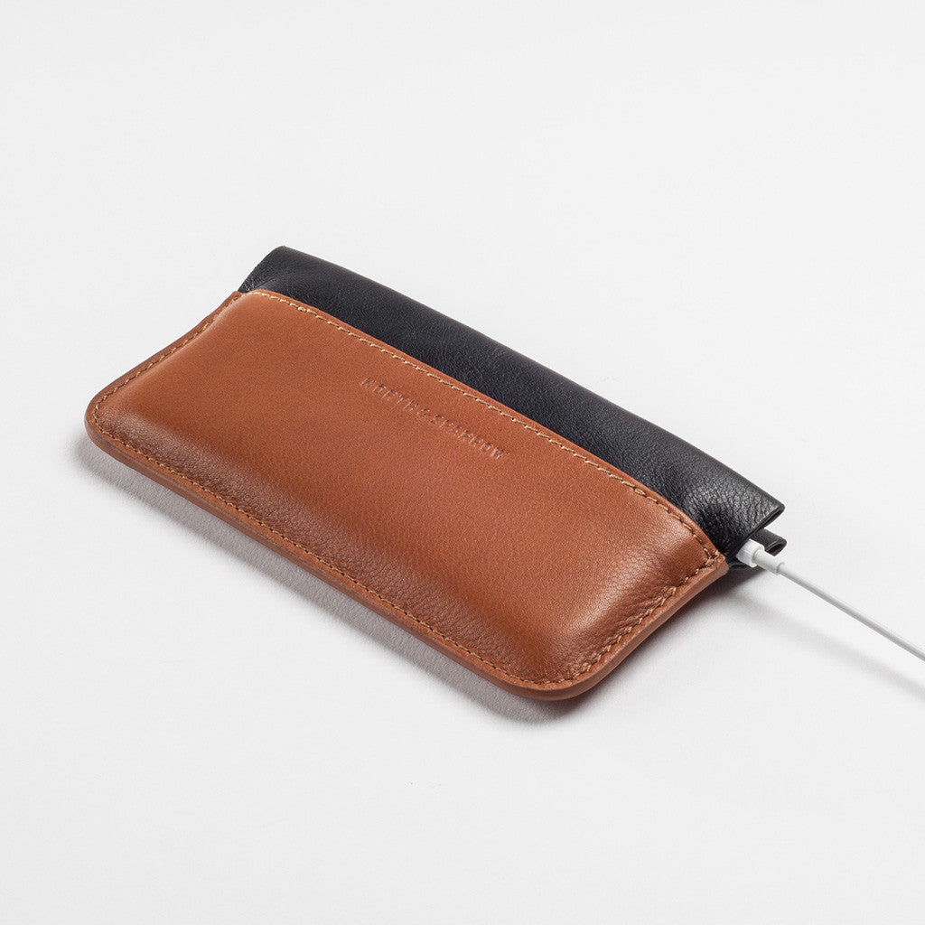 Phone Pouch - Tan