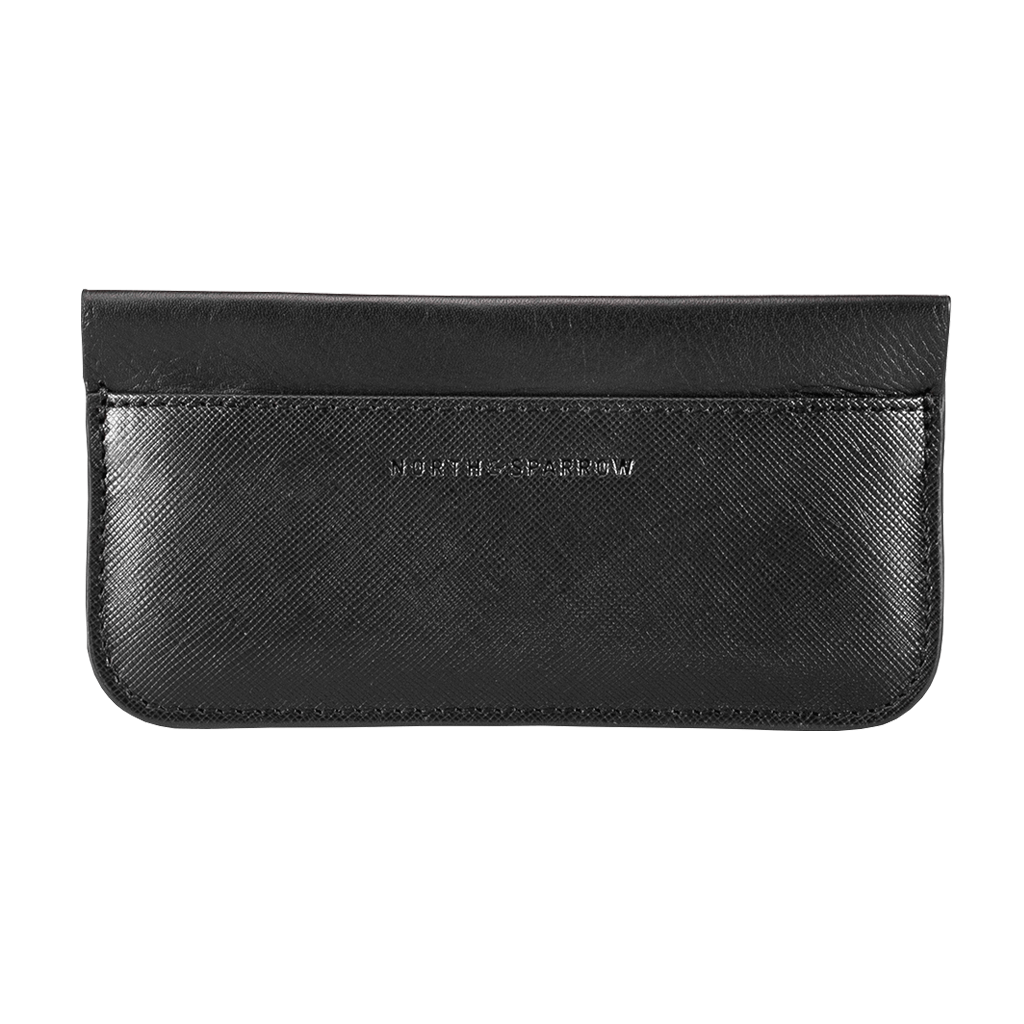 Phone Pouch - Black Saffiano