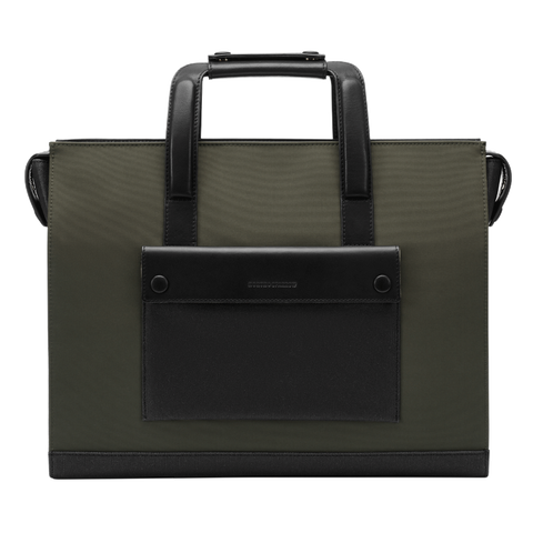 Laptop Brief - Olive