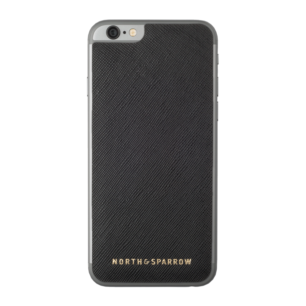 Phone Skin - Black Saffiano