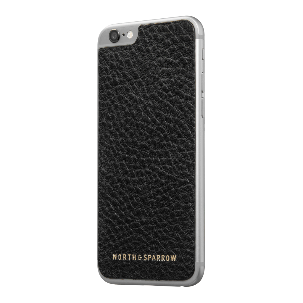 Phone Skin - Black High Grain