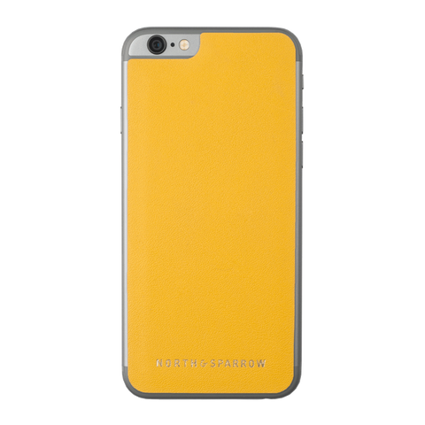 Phone Skin - Yellow Nappa