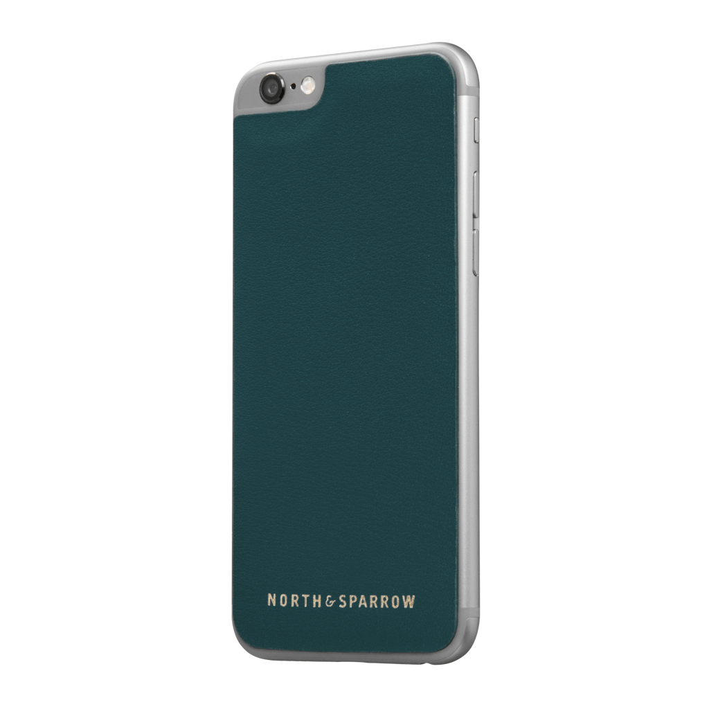 Phone Skin - Jade Green Nappa