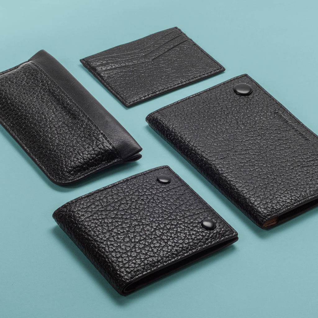 Phone Pouch - Black High Grain