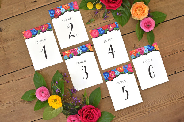 Carley Table Number