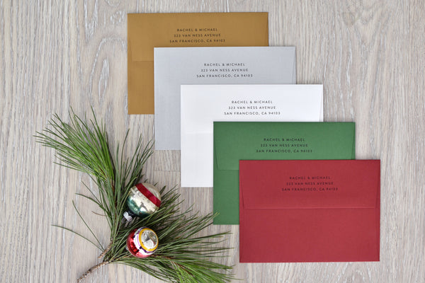 Umbrella Holiday Cards