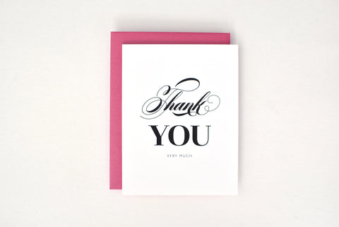 Melissa Suite Thank You Card