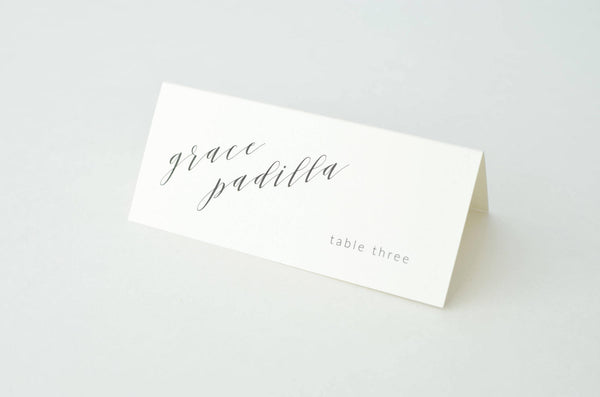 Pamela Suite Escort/Place Card