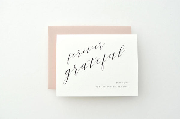 Pamela Suite Thank You Card
