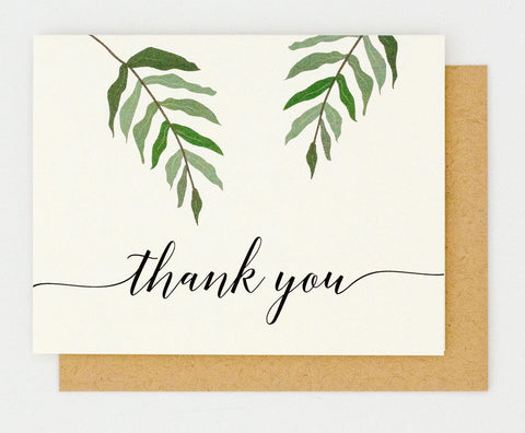 Ella Suite Thank You Card
