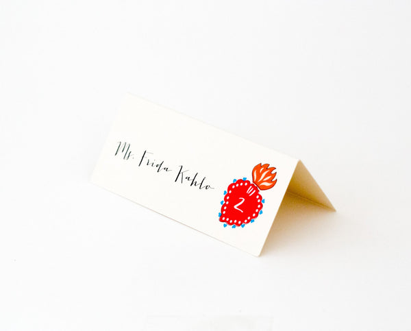 Frida Escort / Place Card