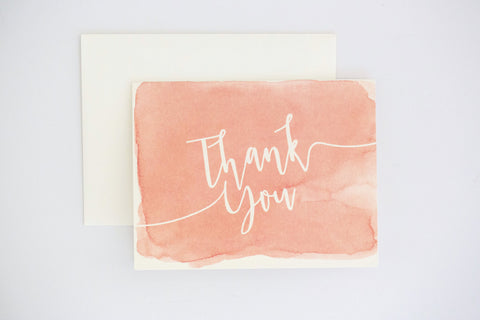 Sarah Thank You Card