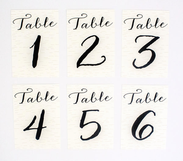 Callan Table Number