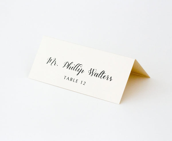 Colette Escort/Place Card
