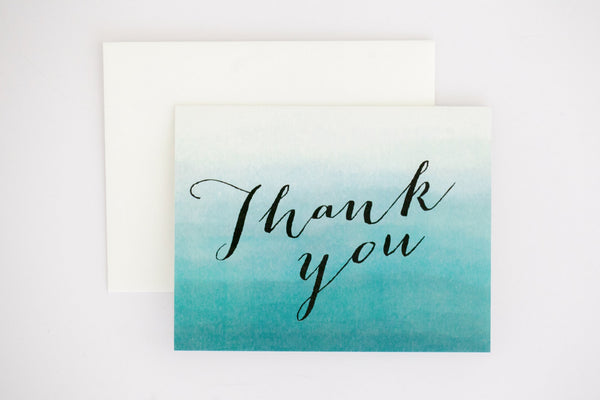 Evelyn Thank You Card