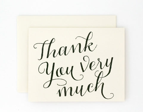 Colette Thank You Card