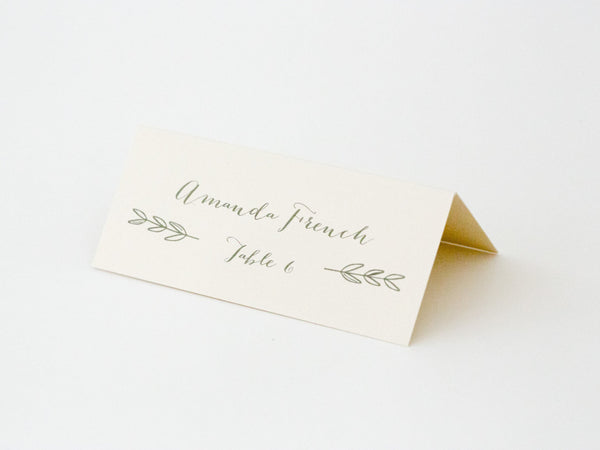 Charlotte Escort/Place Card