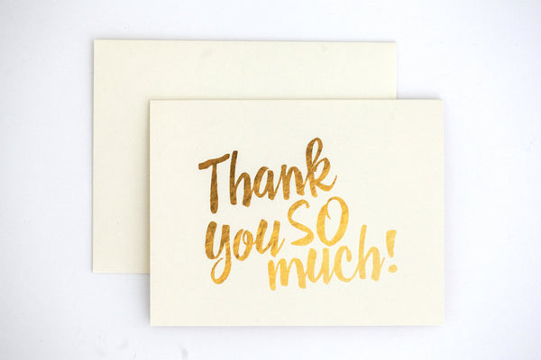 Sidney Thank You Card