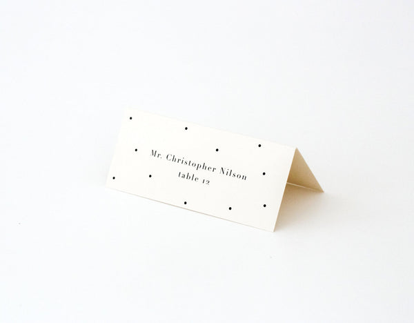 Lauren Escort/Place Card