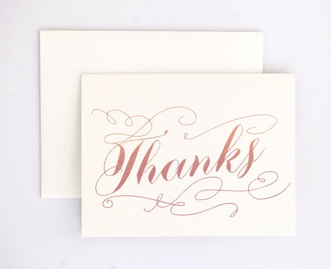 Shannon Thank You Card