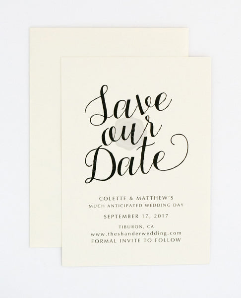 Colette Save the Date