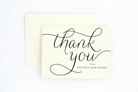 Paulina Thank You Card