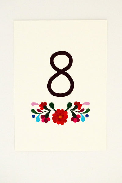 Rachel Table Number