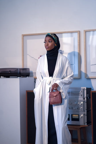 EVERYDAY Abaya - White