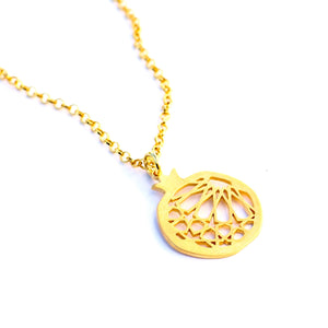 Granada pendant no. 1. . Gold plated silver. PLATÓNICA, contemporary signature jewelry. manufactured in our workshop in Albaicin, Granada, Spain. Handmade jewelry. Alhambra Jewels, Granada. Granada crafts. Jewels made from Andalusia.
