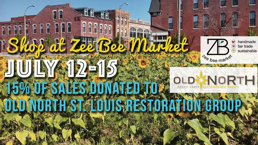 Shop for Sustainability-Fundraising for Old North St. Louis Restoration Group