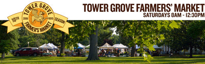 We heart the Tower Grove Farmer's Market...