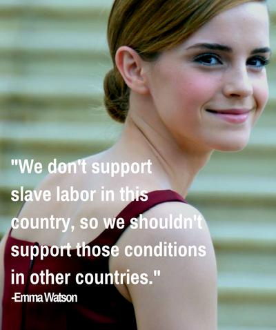 How Celebrities are Changing Fair Trade