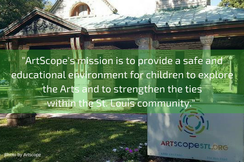 Zee Bee Market donates to ArtScope St Louis, a nonprofit that promotes the Arts