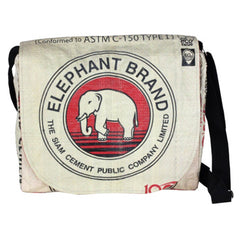 Recycled Cement Sack Messenger Bag