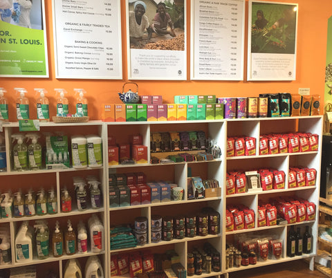 Zee Bee Market sells organic and fair trade coffee, chocolate, tea and other treats