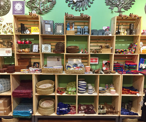 Zee Bee Market sells fair trade wedding and house warming gifts