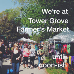 Tower Grove Farmer's Market in St. Louis