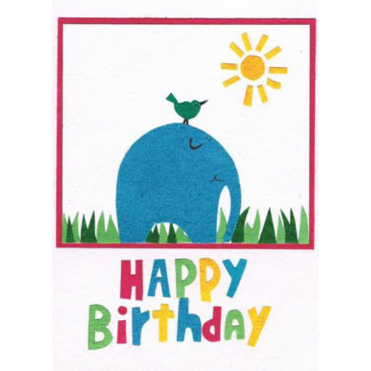 Big and Small Wishes Birthday Card by Good Paper