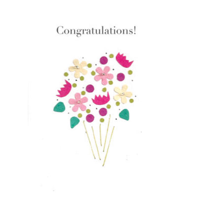 Celebration Bouquet Congratulations Card