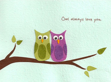 Owl Always Love You Card by Good Paper
