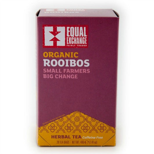 Equal Exchange Organic Rooibos Caffeine Free Tea