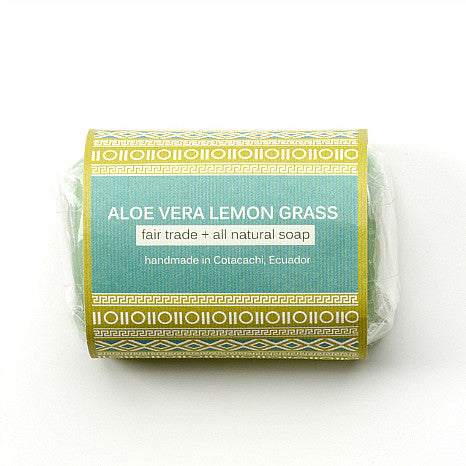 All-natural Aloe Vera Soap - Lemon Grass 4.2 oz
