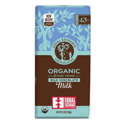 Organic Milk Chocolate (43% Cacao) 80g Bar