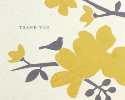 Blooming Thank You Card