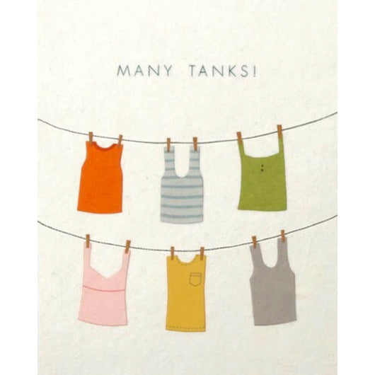 Many Tanks Card by Good Paper