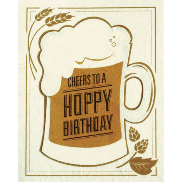 Cheers to a Hoppy Birthday Card by Good Paper