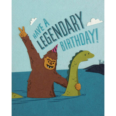 Legendary Birthday Card by Good Paper